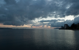 English Bay, from Ambleside Pier, West Vancouver