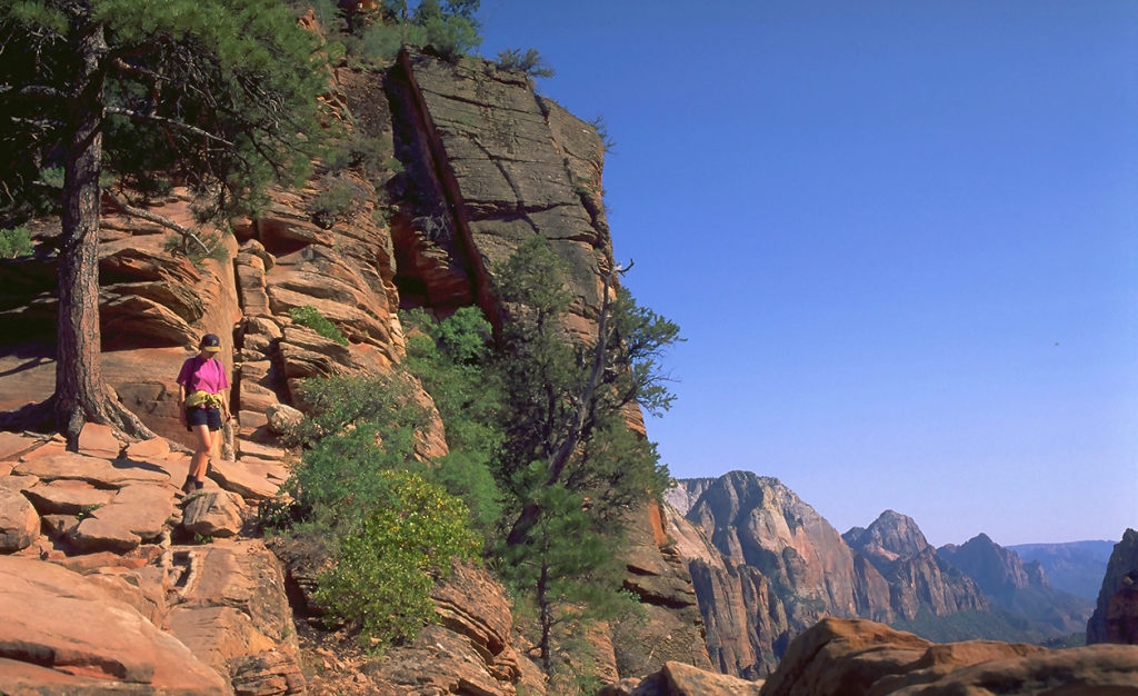 Return from Angel's Landing