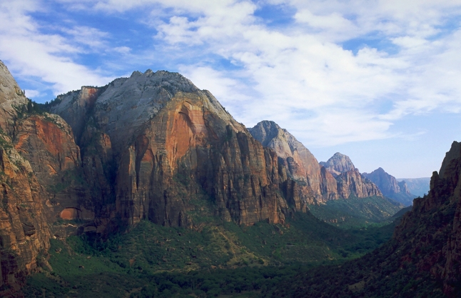 Zion from Angel's Landing