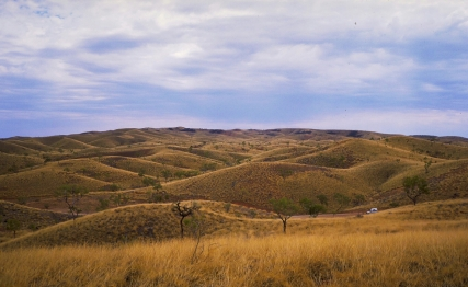 Rollling Hills, The Mereenie Loop, Near Gosse Bluff, Northern Territory, Australia