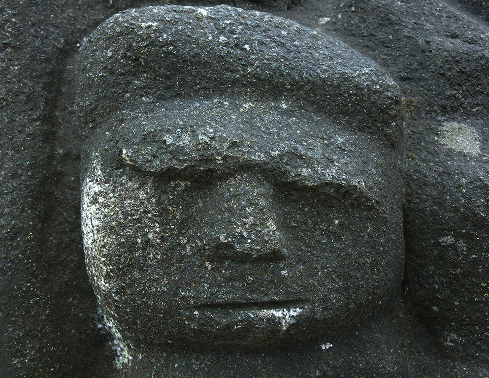 A hard day, even for a stone face