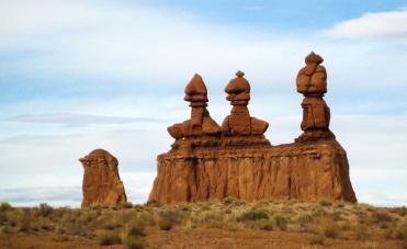 Three goblin sisters astride a camel copy