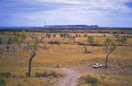 Gosse Bluff, from the Mereenie Loop, Northern Territory, Australia
