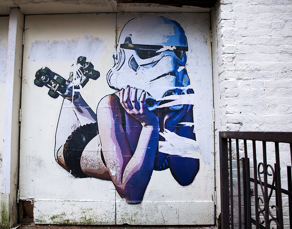 Not all stormtroopers are bad!