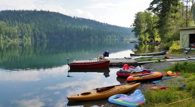 Tyaughton Lake, British Columbia, Canada