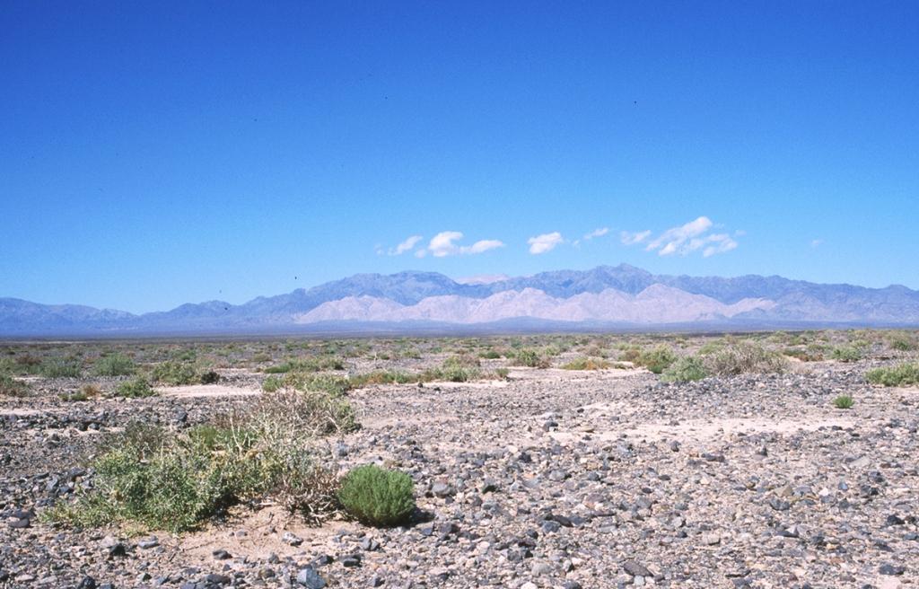 Desert Alluvial Fan, Between Liuyuanzhen and Hami, From Gansu Province into Xinjiang Autonomous Region, The People's Republic of China