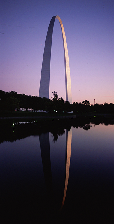 The Gateway Arch, St. Louis, Missouri, United States of America
