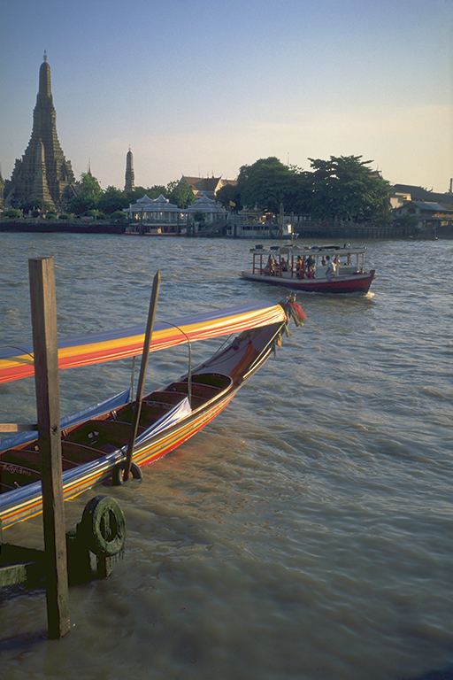 Wat Arun, from Tha Tien, Bangkok, Thailand