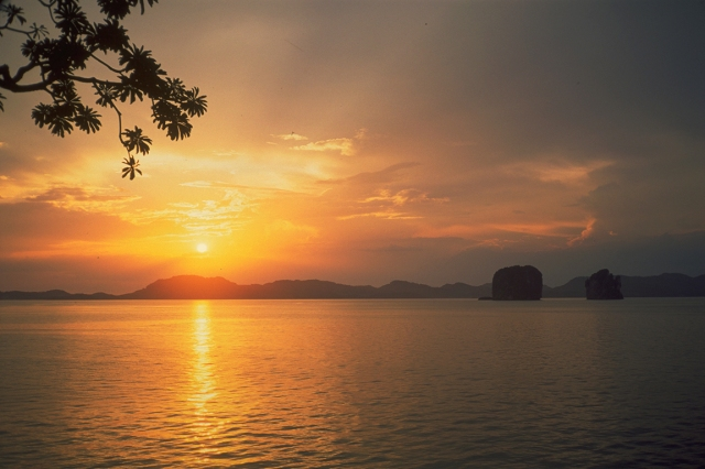 Sunset, Andaman Sea, Thailand