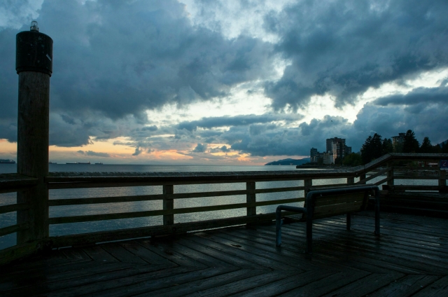 Ambleside Pier, West Vancouver, British Columbia, Canada