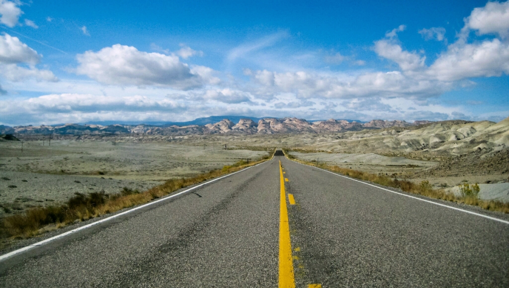 State Road 24 East of Capitol Reef National Park, Utah, United States