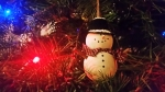 Snowman, Christmas Tree Ornament, Christmas Tree, Family Gathering