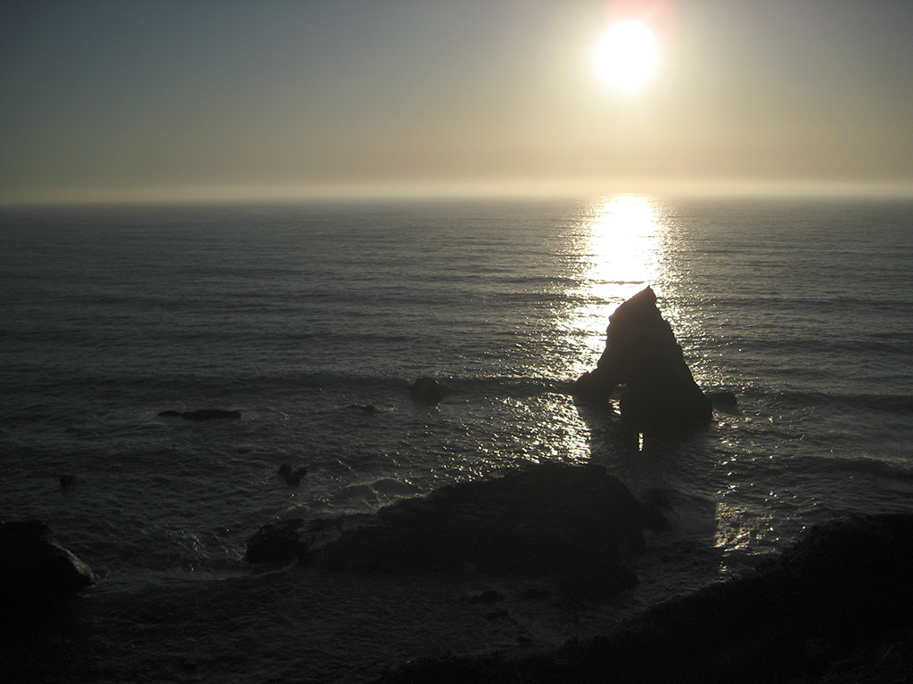 Seascape Sunset, Pacific Coast Highway, Northern California, United States of America