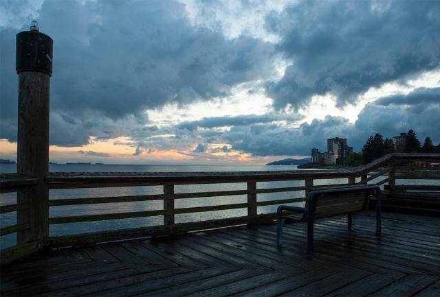 Ambleside Pier, West Vancouver, British Columbia, Canada