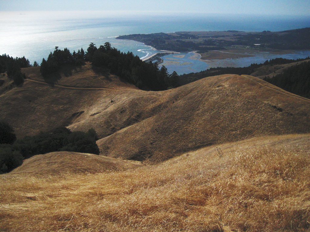 Bolinas, from Panoramic Highway, California, United States of America
