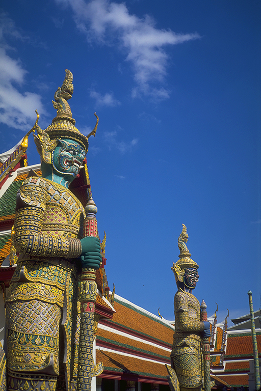Yaksha Guardians, Wat Phra Kaew, Grand Palace, Bangkok, Thailand