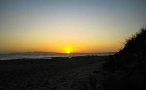 Coastal Sunset, Pacific Coast Highway, North of San Francisco, California, United States of America