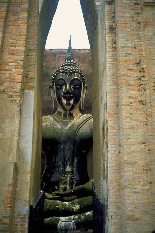 Buddha, Sukhothai, Ancient Capitol, Thailand