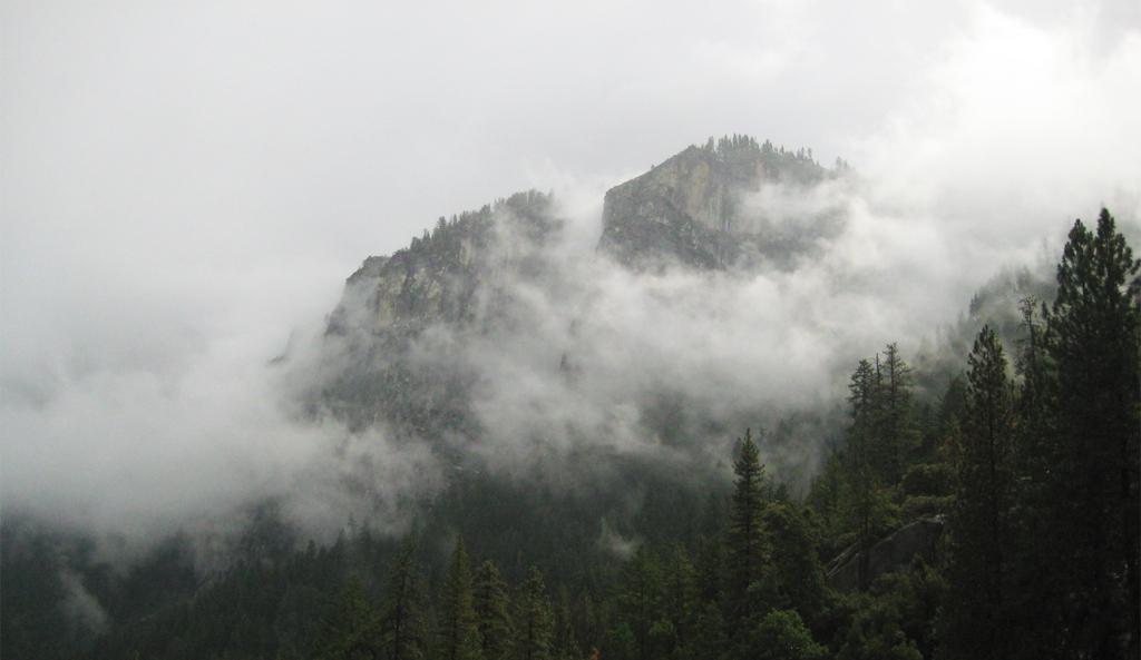 Foggy Mountain Shroud, Yosemite National Park, California, United States of America
