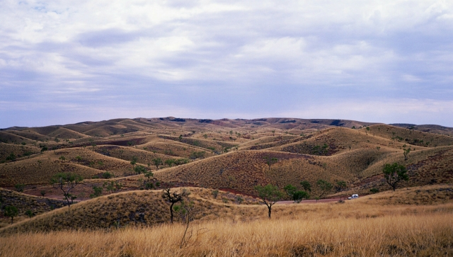 The Mereenie Loop, Near Gosses Bluff, Northern Territory, Australia