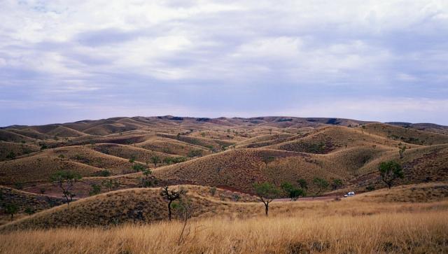 The Mereenie Loop, Near Gosses Bluff, Northern Territory, Australia