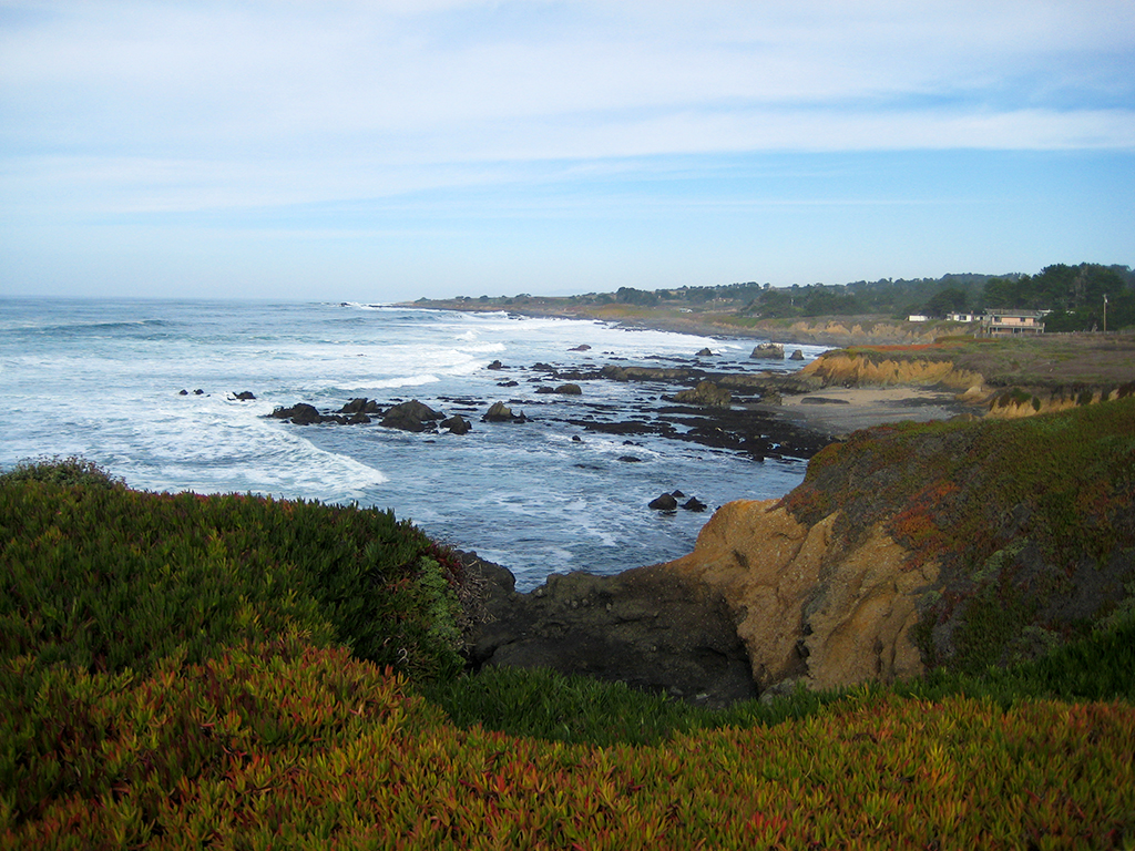 Rocky Shoreline, Pacific Coast Highway, Northern California, United States of America