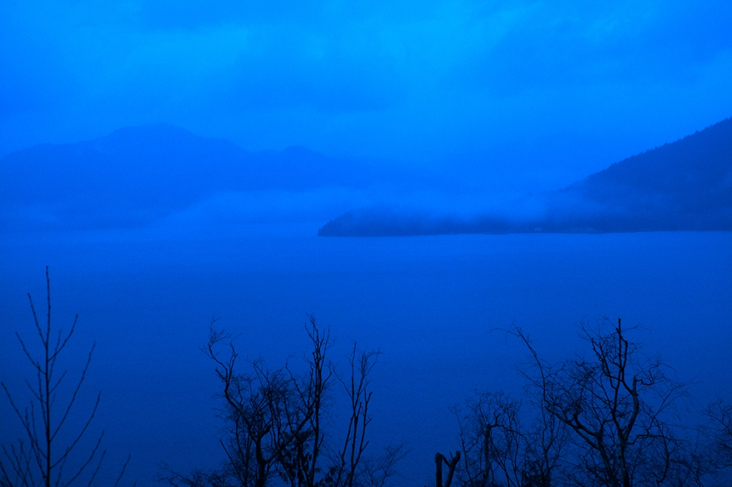 Howe Sound Twilight, Sea to Sky Highway, British Columbia, Canada