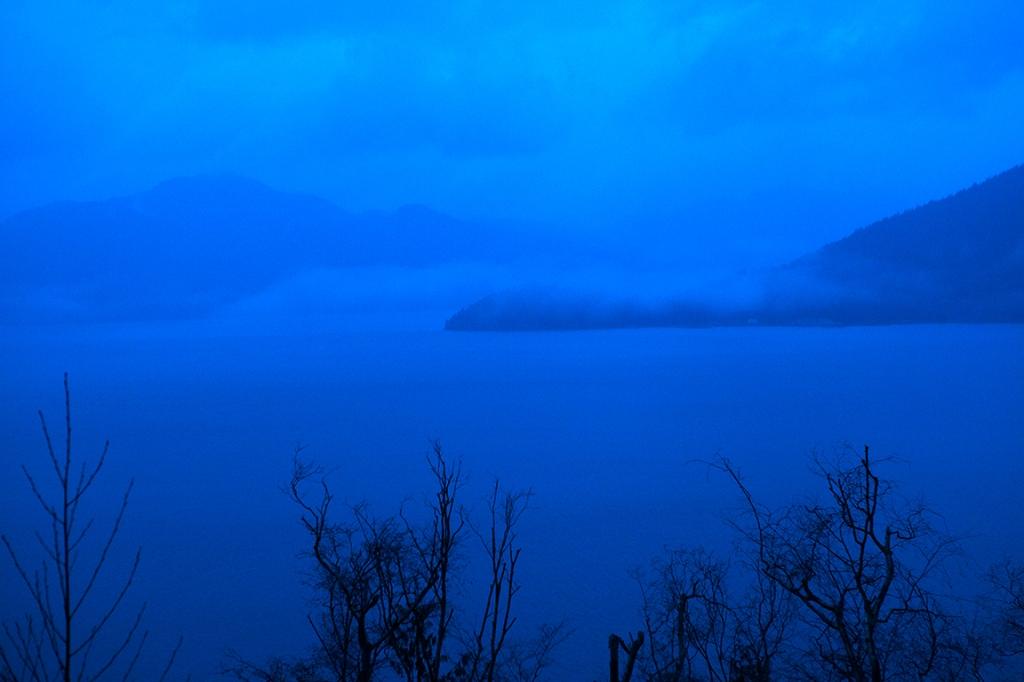 Howe Sound Twilight, Sea to Sky Highway, British Columbia, Canada