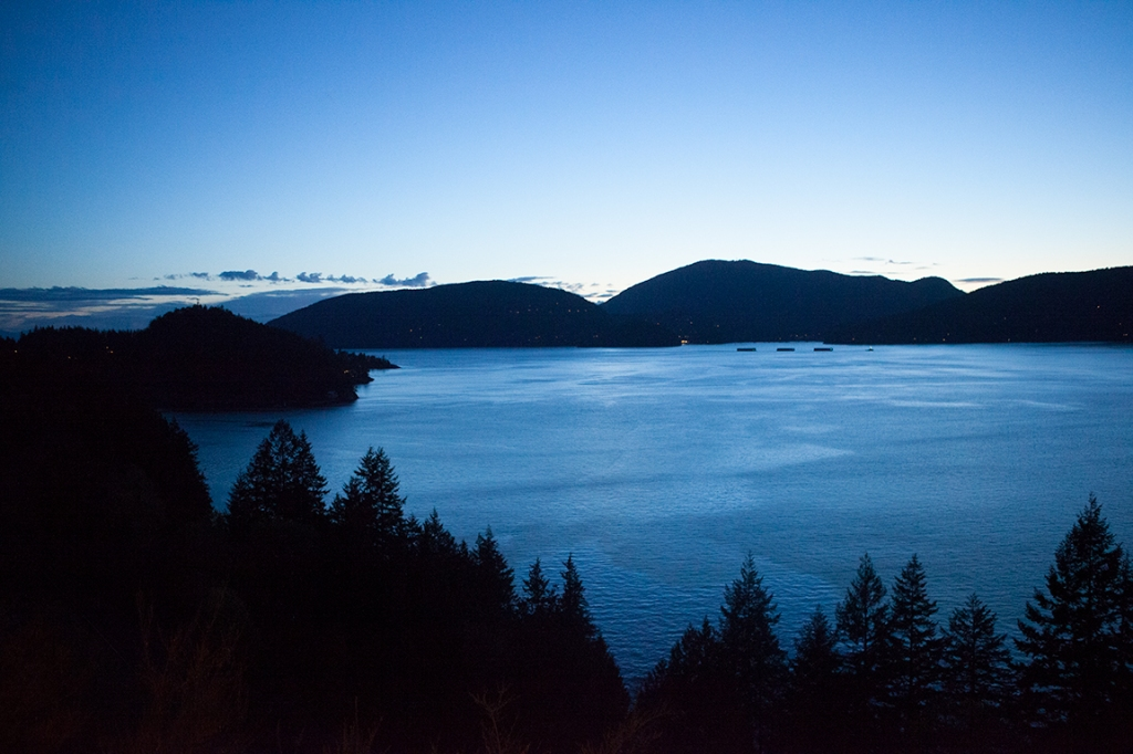 Horseshoe Bay and Bowen Island, Howe Sound, Sea to Sky Highway, British Columbia, Canada
