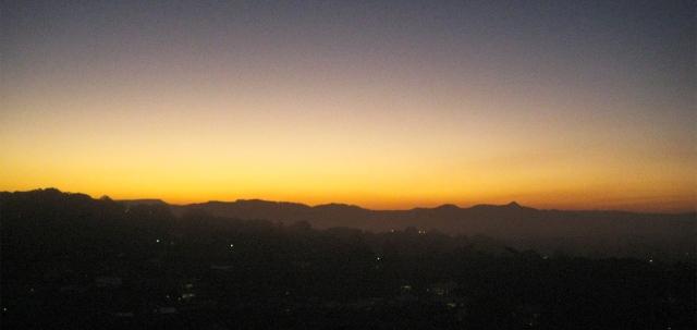 Hinterland Sunset, Yarumba, Queensland, Australia