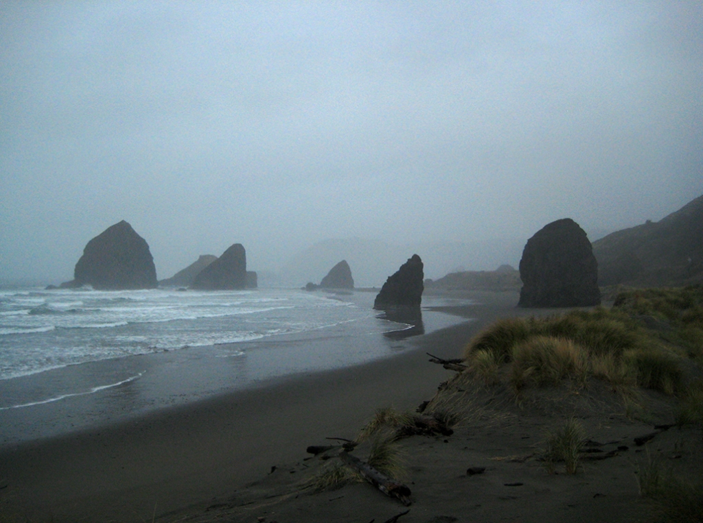 Foggy day, Canon Beach, Oregon, United States