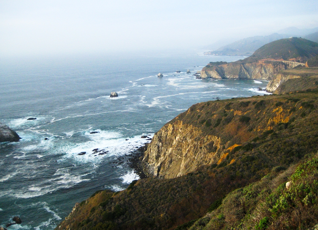 Pacific Coast Highway, Northern California, United States of America.