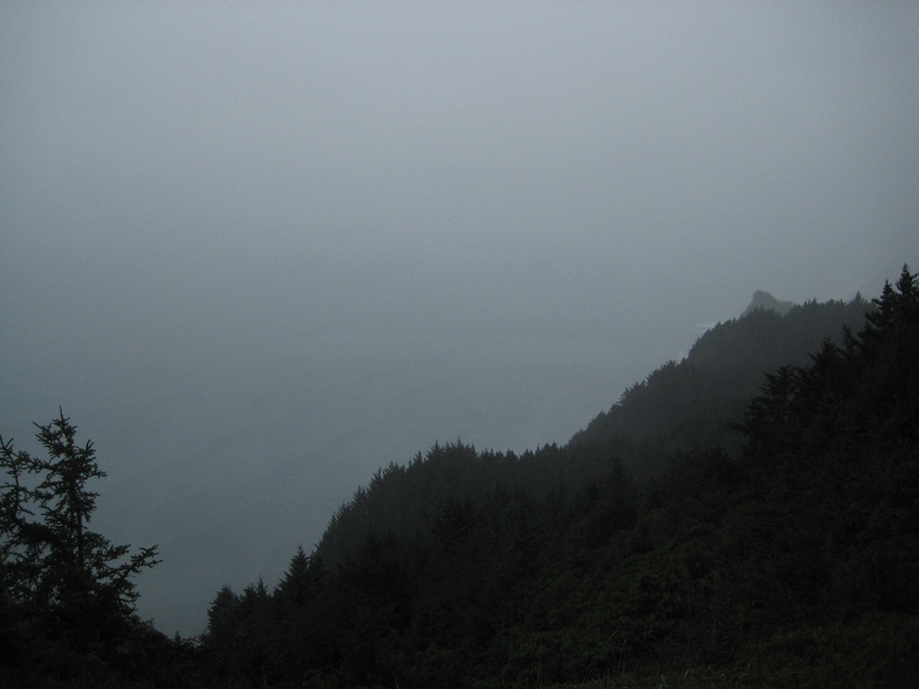 Grey Coastline, Pacific Coast Highway, Oregon, United States of America