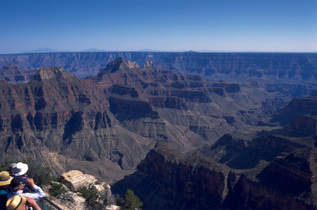 Bright Angel Point, Grand Canyon National Park, North Rim, Arizona, United States of America