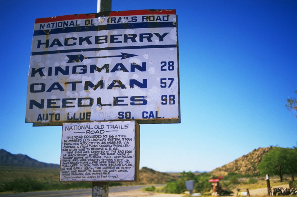 Route 66, The Mother Road, Hackberry, California, United States of America