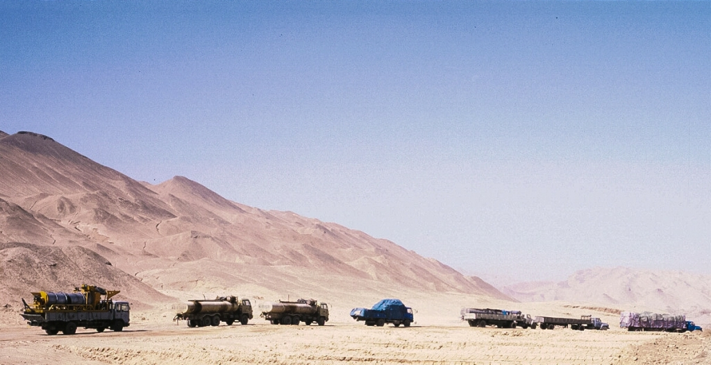 Off roading to Kashgar, Xinjiang Autonomous Region, The People's Republic of China