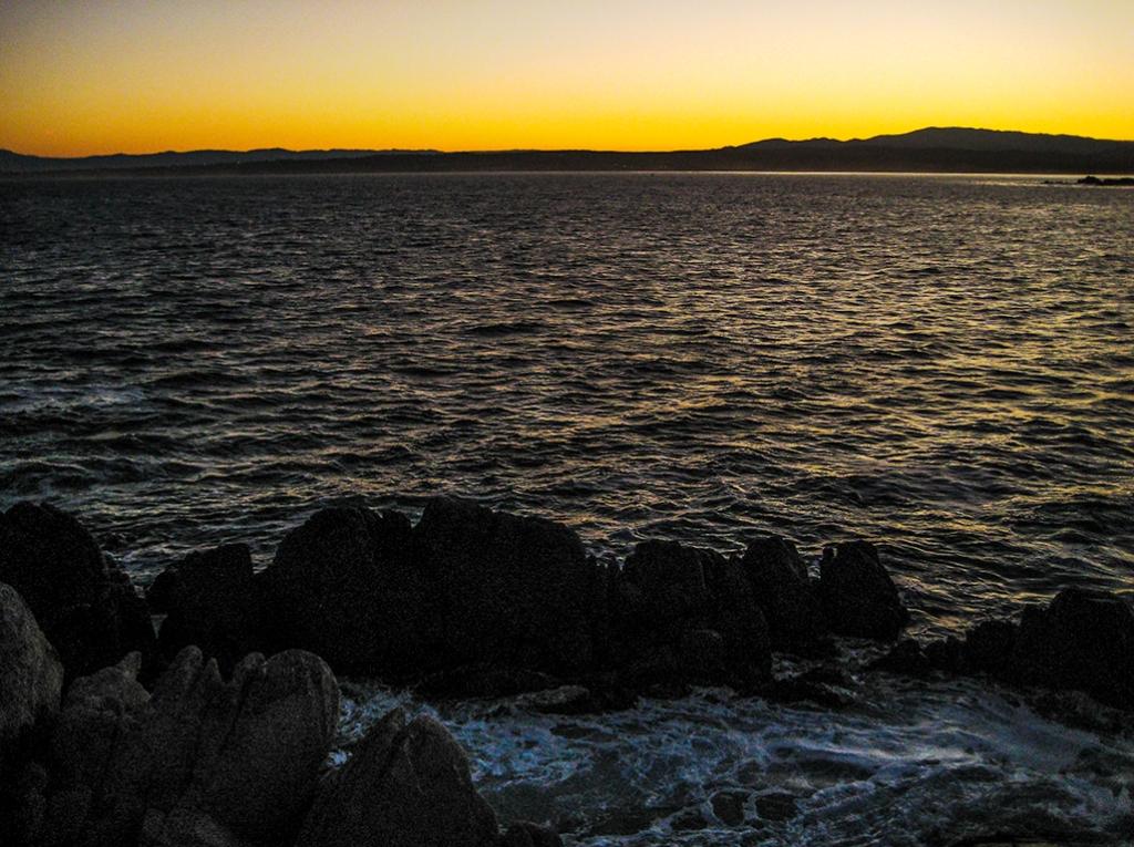 Sunset, Pacific Coast Highway, Near Monterrey, California, United States of America