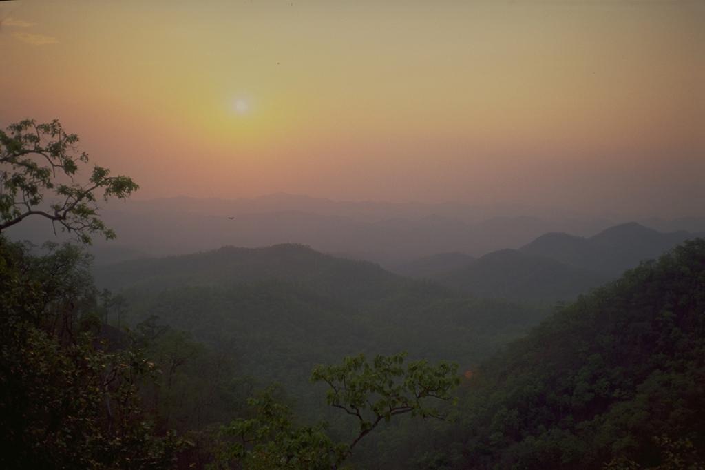 Sunset, Mae Hong Song Loop, Thailand