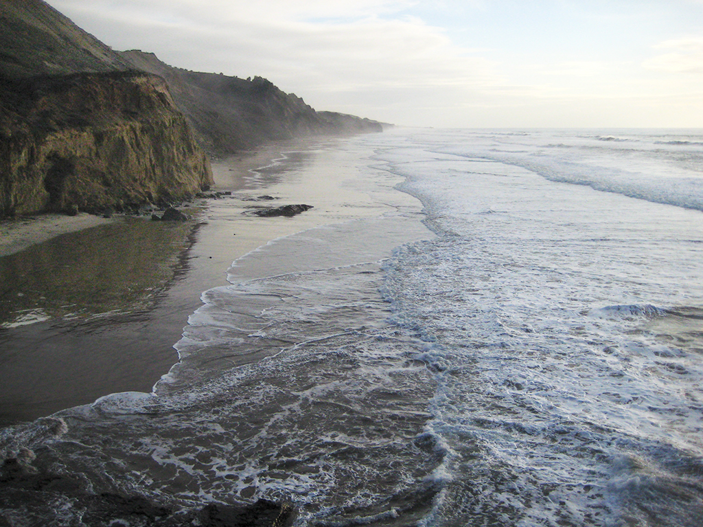 Late afternoon, Pacific Coast Highway, Northern California, United States of America