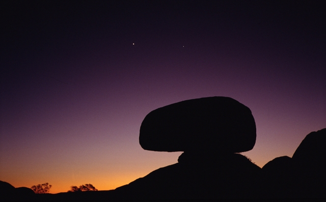 Nightfall, Devil's Marbles, Northern Territory, Australia