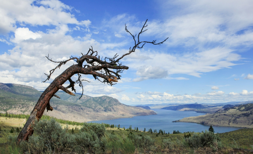 Kamloops Lake, from Sabiston Creek Road, Savona, British Columbia, Canada
