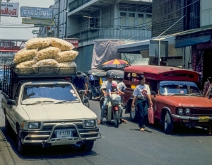 Street Scene, Chiang Mai, Thailand