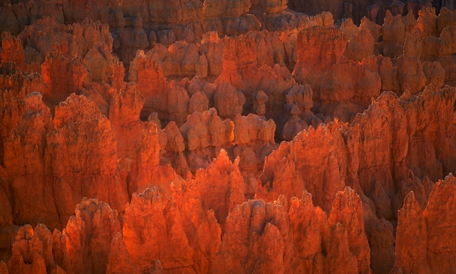 Fire and Embers, Sunset at Sunrise Point, Bryce Canyon National Park, Utah, United States of America