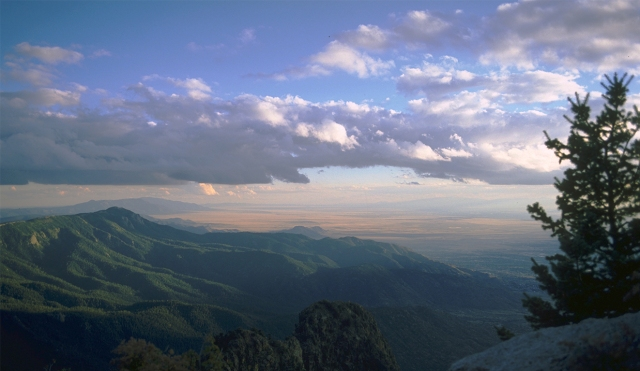 Late Afternoon Rays, Sandia Peak, Albuquerque, New Mexico, United States of America