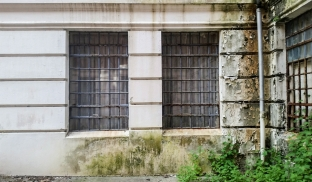 Deteriorating Building, Riverview Hospital, East Lawn Building, Coquitlam, British Columbia, Canada