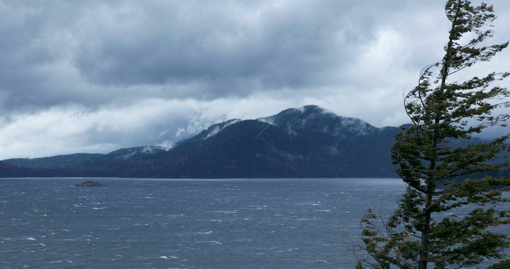 Wind, Howe Sound, Sea to Sky Highway, British Columbia, Canada