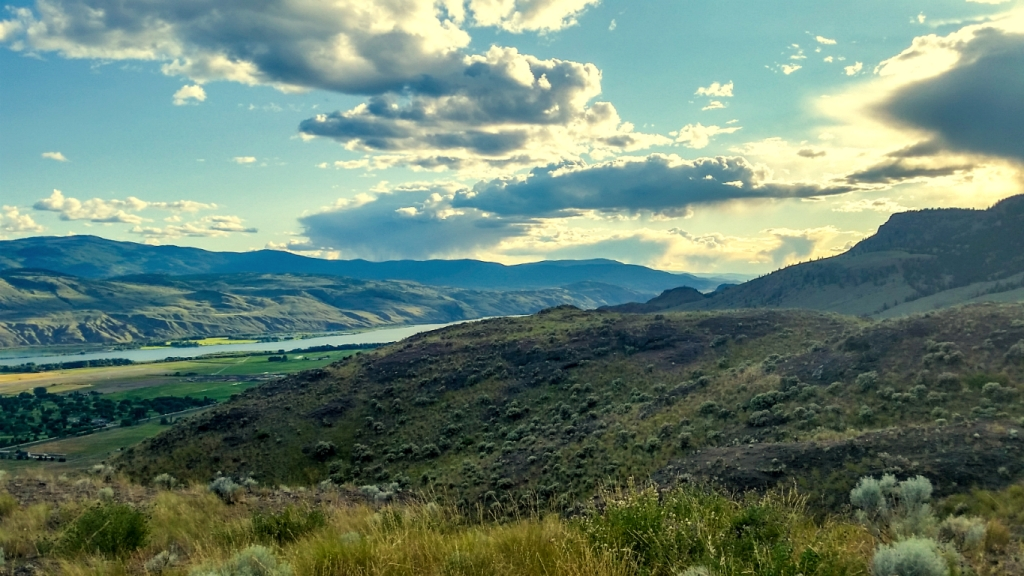 From Tower Hill, Lac Du Bois Grasslands, Kamloops, British Columbia, Canada