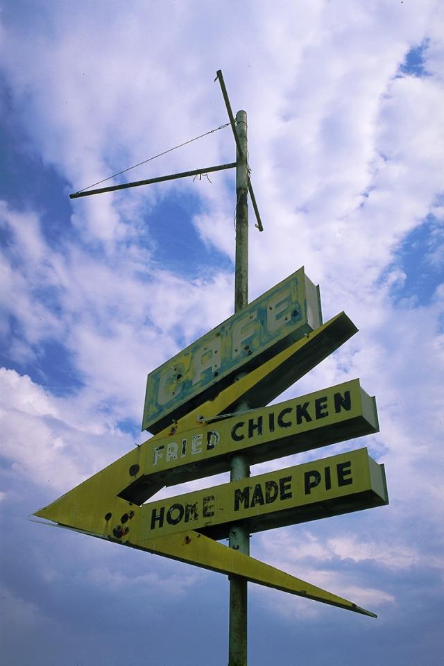 Derelict Neon, Route 66, In or around Lebanon, Missouri, United States of America