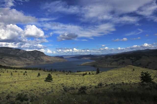 Lake kamloops, British Columbia, Canada