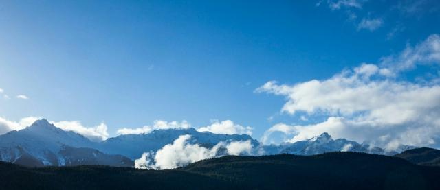 Tantalus Mountain Range, Sea to Sky Highway, British Columbia, Canada
